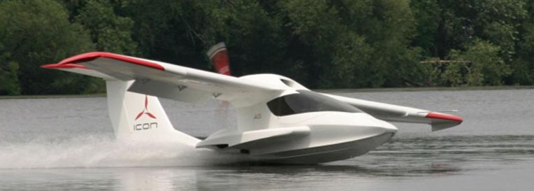 icon amphibian aircraft