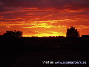 sijan airpark sunset