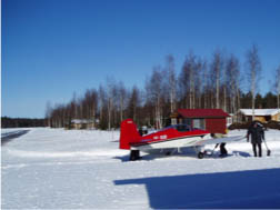 snowing sijan airpark
