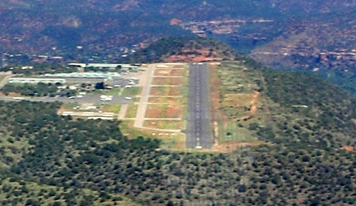 private pilot landing strip